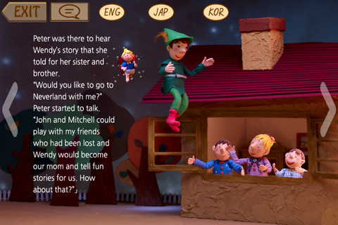 Download Doll play books - Peter Pan iPhone iPad iOS