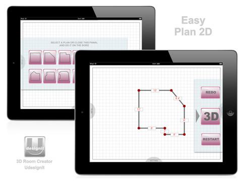 3d Room Creator Udesignit App For Ipad Iphone