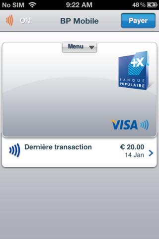 Paiement mobile (BP Mobile)