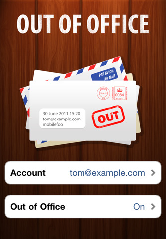out of office iphone out of office for outlook app for iphone business 15827