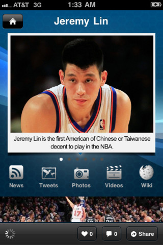 asian american and jeremy lin Jeremy lin and jordan clarkson found a silver lining to tuesday night's 127-117 loss to the oklahoma city thunder together, the pair made up the first asian-american backcourt in nba history https://instagram.