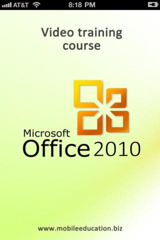 Microsoft Office 2010: Video training course Lite