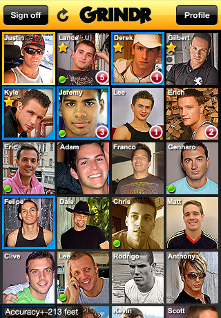Grindr-Gay, bi, & curious guy finder of the same sex.
