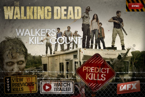 The Walking Dead - Walkers Kill Count 1.00