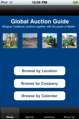 Global Auction Guide Live Auction Sale Bill Calendar bowling equipment auction