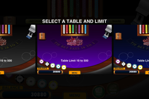 How to play casino war game