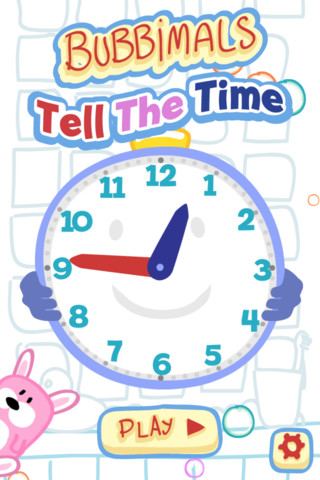Tell the Time with Bubbimals – Learn to tell the time on a fun, interactive analog speaking clock - The best educational games for primary, preschool and elementary children by Playerthree elementary educational games