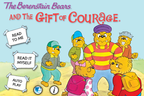 Gift Bears on The Berenstain Bears And The Gift Of Courage 1 09 App For Ipad  Iphone