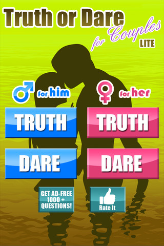 Truth Or Dare For Couples App for iPad - iPhone - Lifestyle