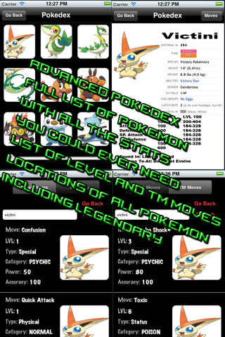 Pokemon Black And White English Pokedex. Pokedex For Pokemon Black and