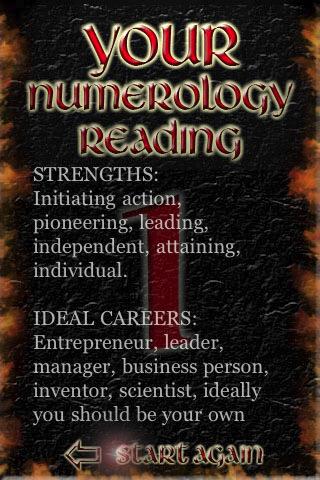 Free Full Numerology Reading 1