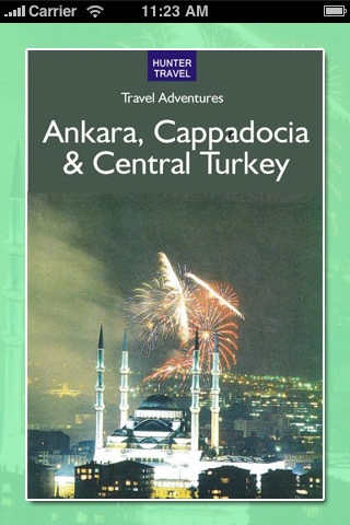 Ankara, Cappadocia & Central Turkey central anatolia turkey map