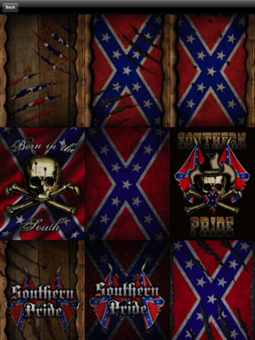 Southern Pride (Rebel Flag) Wallpaper! App for iPad, iPhone ...