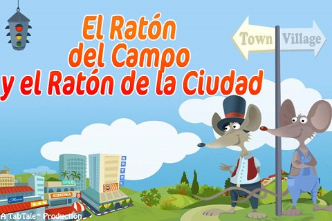 MI COLE AL DIA: RATÓN DE CAMPO Y RATÓN DE CIUDAD