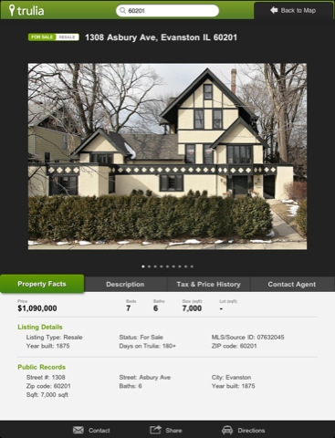 Trulia Real Estate Search