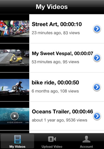 Download VideoBam Pro Video Upload, Hosting and Sharing iPhone iPad ...