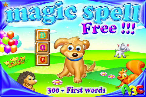 Magic Spell - 300 first words in phonics spelling game HD