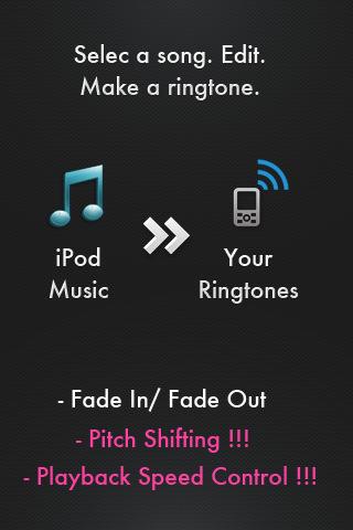 Ringtone Maker Pro - Create free ringtones with your music! create music website free
