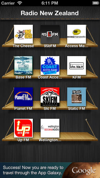 New Zealand Radios : The App who gives you access to all New Zealand Radios For FREE ! new zealand air
