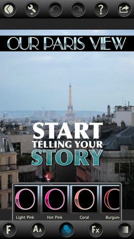 TitleFx - Tell your story on Facebook, Instagram and Tumblr