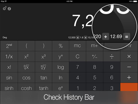 Calculator Pro for iPad Free