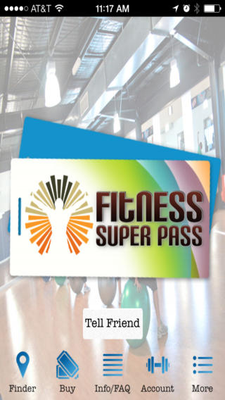 Fitness Super Pass local fitness gyms