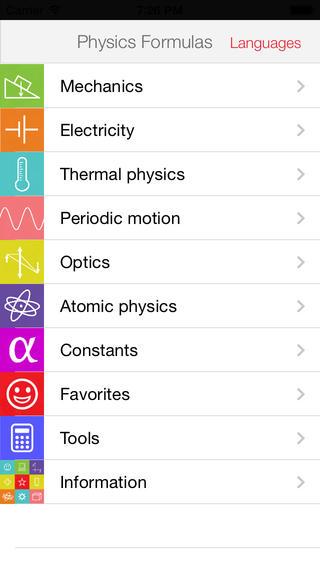 Physics Formulas Free basic physics formulas