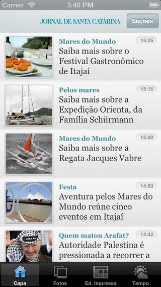 Jornal de Santa Catarina santa catarina
