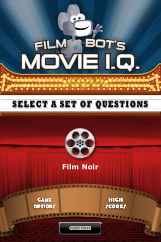 Film Noir - Film Bot`s Movie I.Q. (FREE) film making supplies