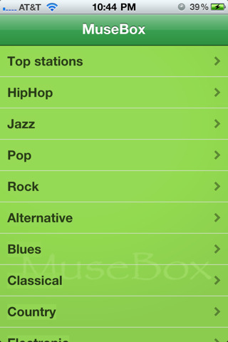 MuseBox Radio - Pandora box music and tunes for ring tones with facebook