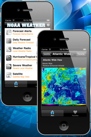 NOAA Weather Plus - Weather, Daily Forecast, Radio, Radar, Satellite