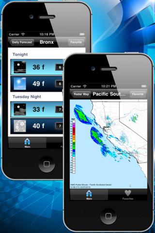 NOAA Weather Plus - Weather, Daily Forecast, Radio, Radar, and Satellite