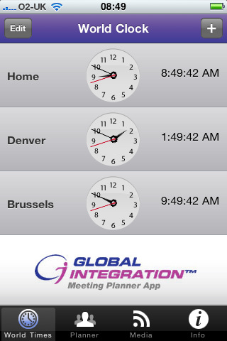 Download Time Zone Meeting Planner by Global Integration iPhone iPad yXS0SK6q
