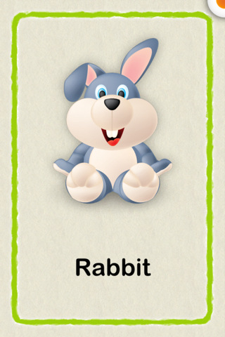 Cute Baby Flash Cards Lite Education Flash Cards