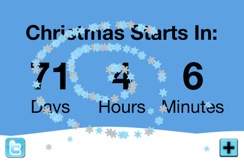 Christmas Snow Globe Countdown: Free Desktop Christmas Countdown Clock