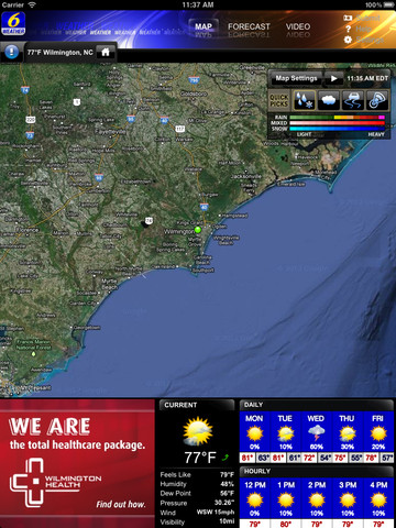WECT 6 First Alert Weather