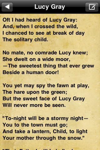 William Wordsworth and Lucy