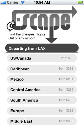 cheap Escape (Cheap Airfare) -- UPDATED! cheap printing