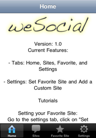 weSocial - All in One Social Networking pros of social networking