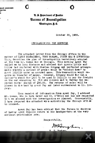 sample of letter of recommendation al capone fbi declassified documents reference 2523