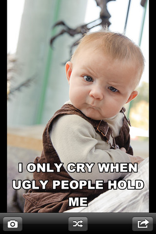 Baby Funny Photo Captions