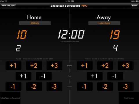 20 Best Basketball Scoreboard Download Apps iOS iPad iPhone
