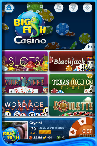 Big Fish Casino – Free Slots, Poker, Blackjack and More!