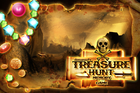 treasure hunting game
