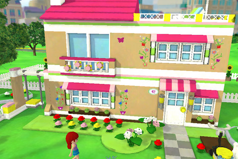 legofriends com games online