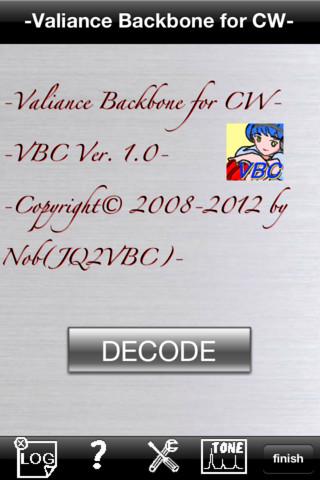 Valiance Backbone for CW - VBC