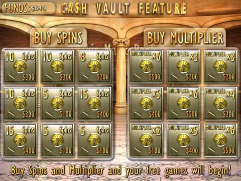 3 vault symbols slots