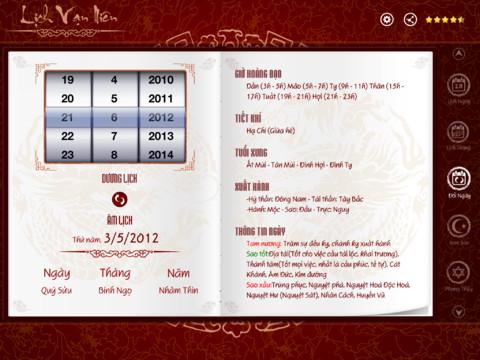 description - Lich Van Nien - Xem Tu Vi Boi Toan Phong Thuy 2.5