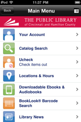 Cincinnati Public Library free public online library