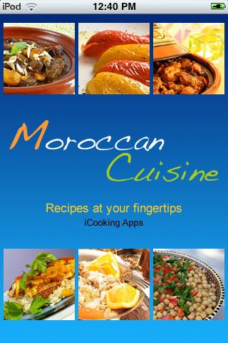 iCooking Moroccan Cuisine german cuisine history